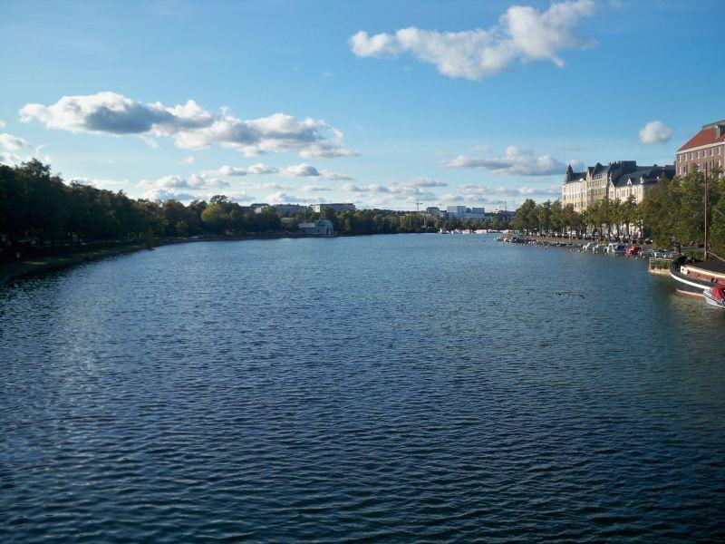 River Through Helsinki