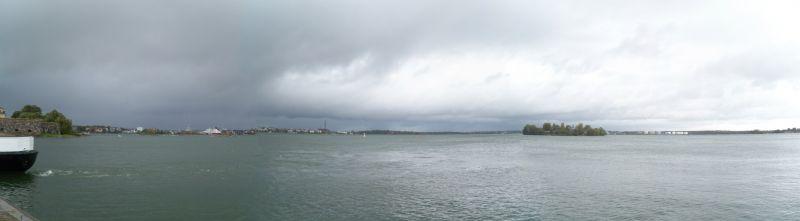 Panoramic from Suomenlinna