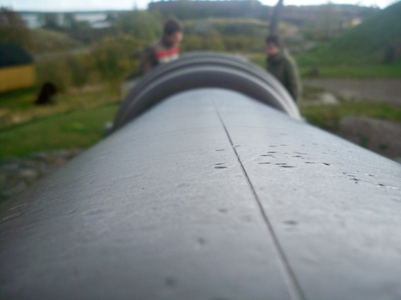 Looking Down the Barrell