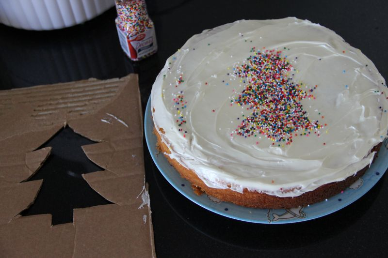 A Completed Cake