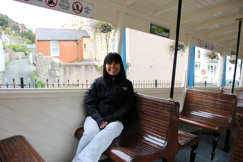 Taking The Cable Car